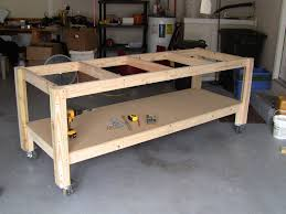 Garage Workbench Plans And Patterns Fascinating Amazing Garage Workbench Plans And Patterns 48 How To Build A Diy