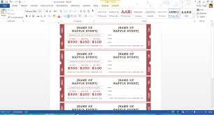microsoft raffle ticket template microsofts best free summer templates printable raffle tickets