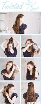 Different Bun Hairstyles Step By Step Pictorial Tutorials Of Different Style Puff Hairstyle
