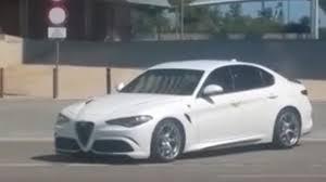 307 km/h Alfa Romeo Giulia Quadrifoglio live from IAA; lapped ...