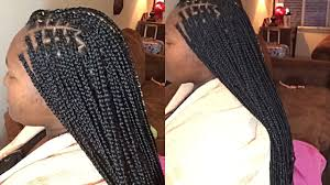 Small Vs Medium Box Braids