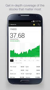 yahoo finance app. Wonderful Yahoo Yahoo Finance App Redesigned For Android To Yahoo App F