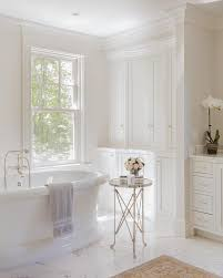 bathroom accent furniture. Elegant Bathtub With Glass Top Round Directoire Accent Table Bathroom Furniture T