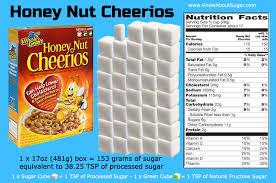 honey nut cheerios sugar content how much sugar in honey nut cheerios