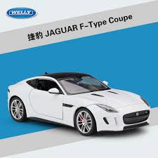 welly 1 24 high simulation model toy car metal jaguar f type coupe alloy clical car cast vehicle for boys gifts collection