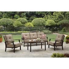 patio furniture sets walmart. Better Homes And Gardens Carter Hills Outdoor Conversation Set Brilliant Wicker Patio Furniture Sets Walmart Regarding