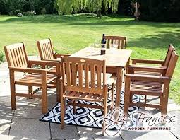 full size of hardwood garden table and 6 chairs teak archives the furniture village agreeable patio