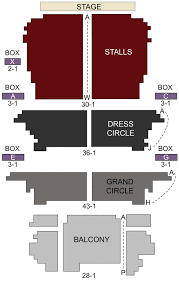 Palace Theatre London Seating Chart Stage London