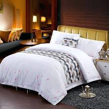 tropical luxury bedding luxury hotel style white pink and gray tropical country chic wild flower print cotton twin full queen size bedding sets luxury