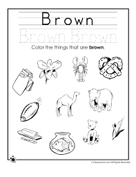 learning colors worksheets for preschoolers color brown worksheet colouring worksheet for preschool collection of color worksheets sharebrowse on balancing worksheet