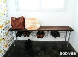 Entry benches shoe storage Hallway Diy Shoe Bench Shoe Storage Entryway Bench How To Build Wooden Shoe Bench Pinterest Diy Shoe Bench Shoe Storage Entryway Bench How To Build Wooden