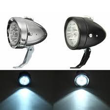 Front Light Retro Vintage E Bike Bike Front Light Led Headlight Head Fog Lamp With Bracket