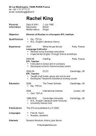 Fancy Examples Of Teenage Resumes For First Job Complete