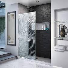 dreamline platinum linea surf 34 in w x 72 in h frameless fixed shower