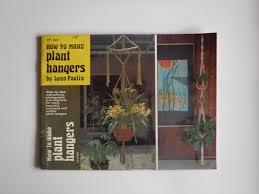 Macrame Plant Hanger Pattern Books