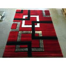 red black white area rugs area rug cleaning