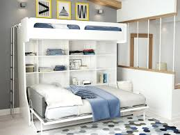 murphy bunk bed plans. Twin Over Full Wall Murphy Bunk Bed With Table Castello Diy Plans