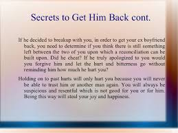 How Do I Get My Lover Back Secrets How To Get Boyfriend Back Does