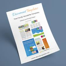 Free Printable Family Newsletter Templates Business Template Ideas