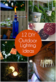 outdoor lighting ideas diy. Simple Lighting Throughout Outdoor Lighting Ideas Diy G
