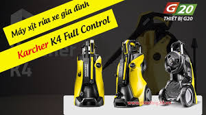 Máy rửa xe gia đình Italy Karcher K4 Full Control | Máy xịt rửa mini chính  hãng giá rẻ - YouTube