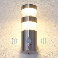 led outdoor wall light lanea with motion sensor 9988006 02