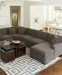 amazing bradley 4 piece fabric chaise sectional sofa custom colors throughout sofas at macys popular