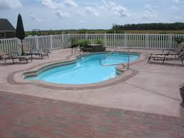 outer banks pool deck brick patio swimming pool deck currituck pool installer