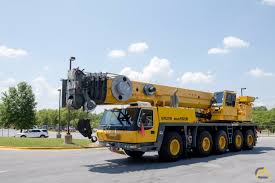 Grove 120 Ton Crane Load Chart Grove Gmk5120b 120 Ton All Terrain Crane For Sale