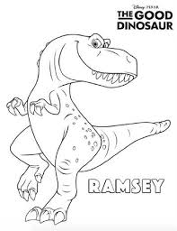 Kids N Funcom 25 Coloring Pages Of Good Dinosaur