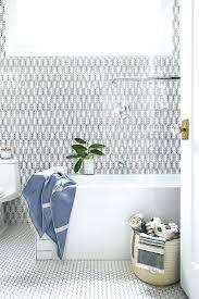 bathroom floor tiles honeycomb. Honeycomb Floor Tile Bathroom Tiles White With Black Grout  Contemporary N