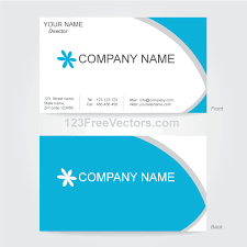 Card Design Template Vector Business Card Design Template