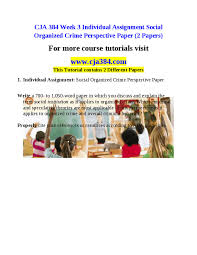 social organized crime perspective social organized crime perspective paper essays