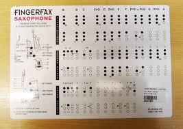 Jon Dodd Fingerfax Saxophone Fingering Trill Chart