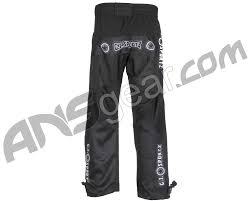 Dye Paintball Size Chart Gi Sportz Glide Paintball Pants Black