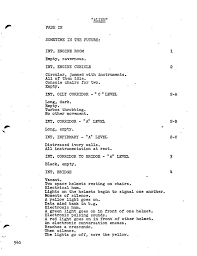 Light Cues In Script What Visual Storytelling Looks Like In A Screenplay Lights