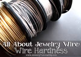 Sterling Wire Gauge Chart All About Jewelry Wire Wire Hardness Explained Jewelry