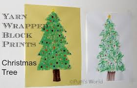 Hello Wonderful  25 OF THE MOST ADORABLE CHRISTMAS TREE CRAFTS Christmas Tree Kids