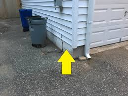 painting outside of house on concrete foundation see photos what