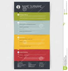 Free Colorful Resume Templates Colorful Resume Template Free Download Wpjobus Html100 Resume 12