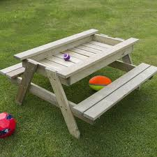 How To Build A Nautical Picnic Table For Bigger Kids  A Houseful How To Make Picnic Bench