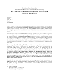 Terms Civil Engineering Project Proposal Example This Cover Letter