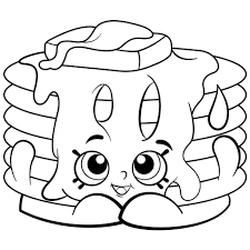 Fancy Design Squishy Coloring Pages Tearing Shopkins Free Printable