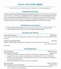 Physical Therapy Resume Custom Best Physical Therapist Resume Example LiveCareer