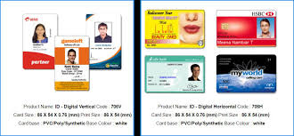 identity card size id cards id cards india