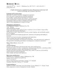 inventory control clerk resume objective client architect