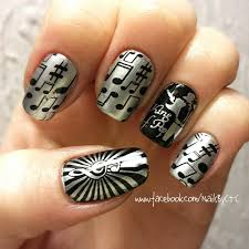 Music Theme Nail Art Stamping Template Image Plate BORN PRETTY ...