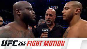 UFC 265: Fight Motion - YouTube