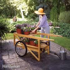 construct a classic wooden cart diy