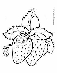 Small Picture Coloring Pages Fruit Coloring234